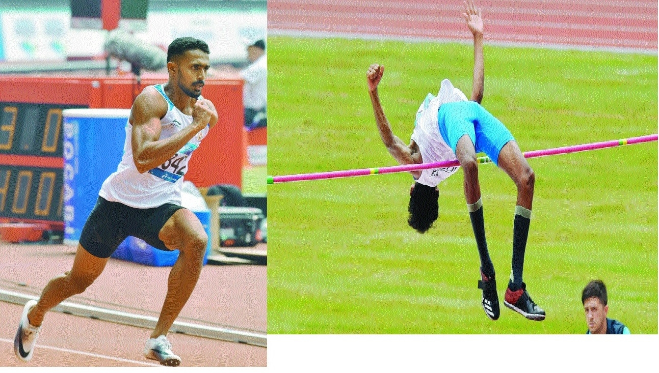 Anas, Rajiv in 400m semis; Chetan in high jump final