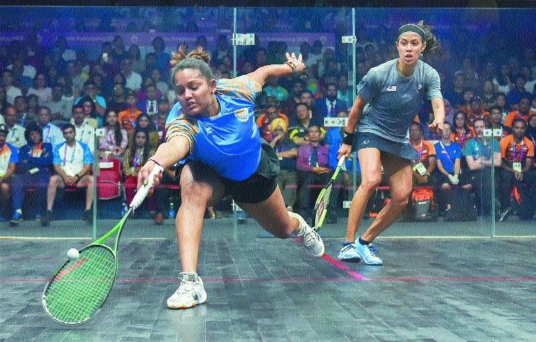 India bag 3 squash bronze