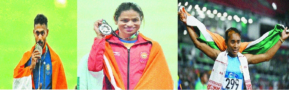Indian athletes add silver lining