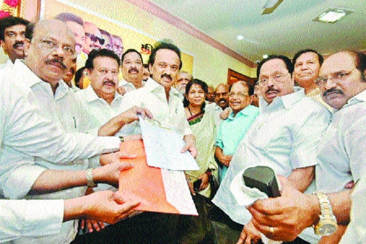 Stalin set to become DMK Chief unopposed