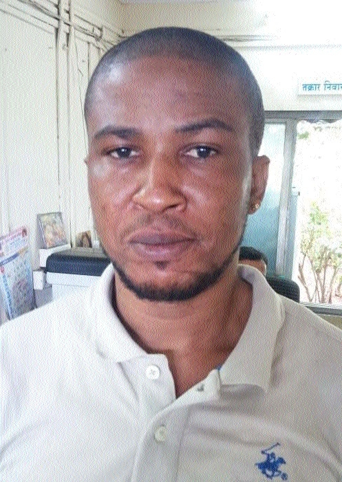 African arrested in cheating case