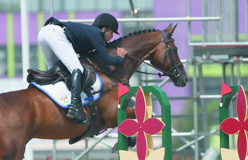 Mirza hops to equestrian silver