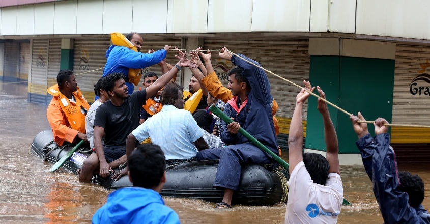 Navy rescued nearly 17,000 in Kerala floods