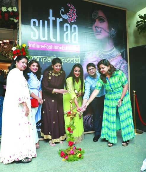 SUTRAA- The Indian Fashion Exhibition to conclude today