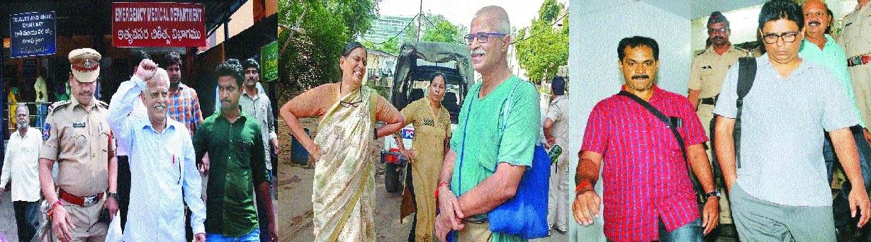 Nationwide swoop on Maoist sympathisers; 5 held