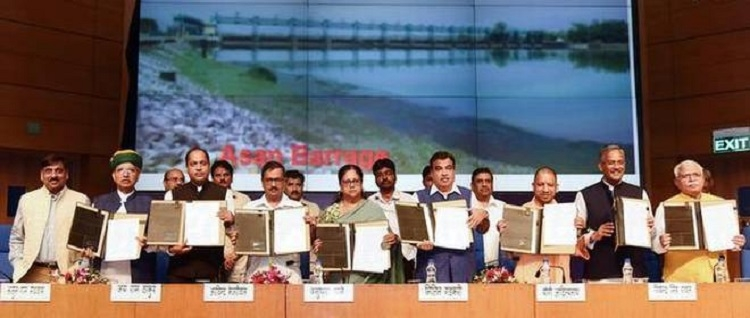 Centre, 6 States sign MoU for Lakhwar dam project