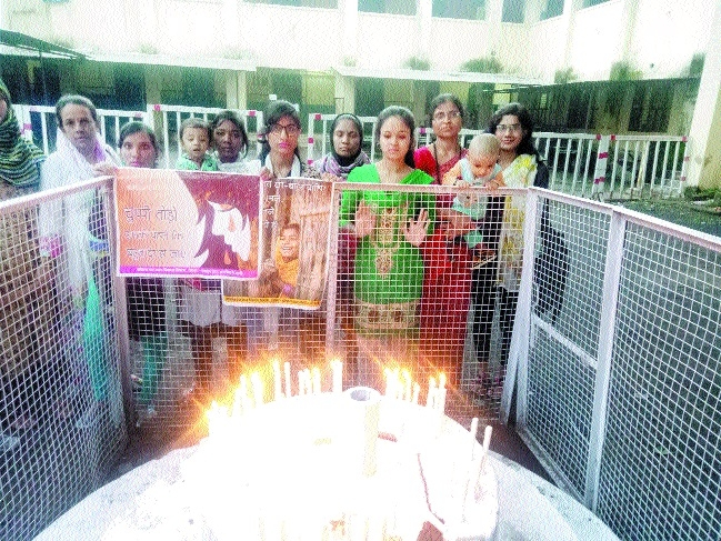 Candle march held to curb violence against girl child