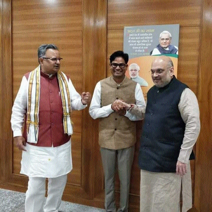 Former Raipur Collector O P Choudhary joins BJP