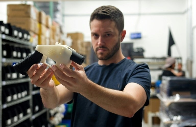 'Crypto-anarchist' sees 3D-printed guns as fundamental right