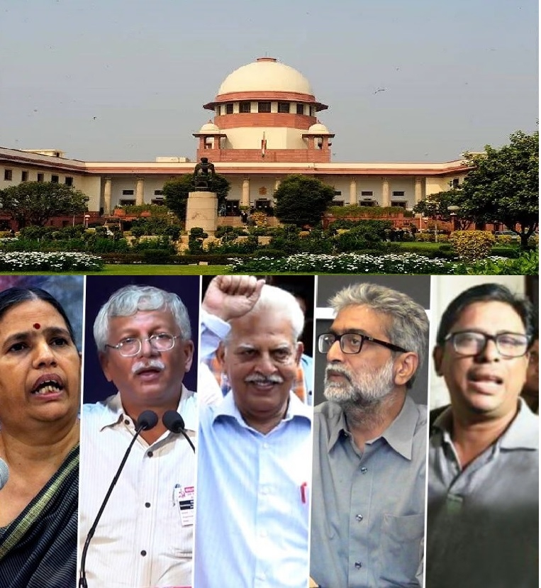 SC orders house arrest of Maoist sympathisers