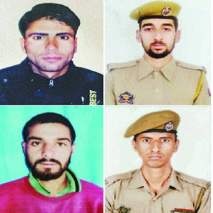 Four cops killed in J&K militant attack