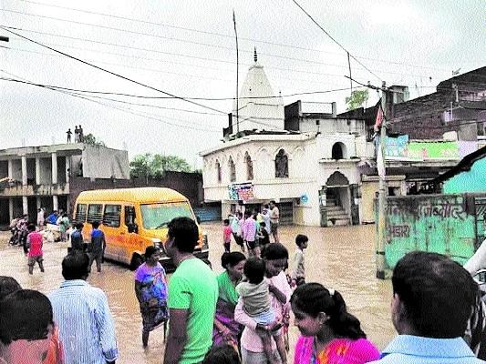 Gotegaon faces flood-like scenario due to fury of nature