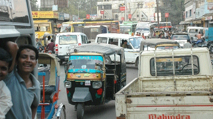 Traffic Chaos continues in city