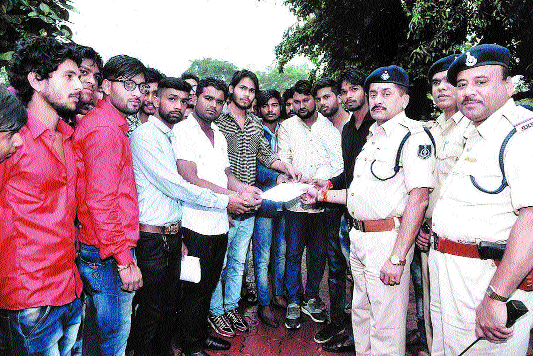 NSUI demands action against rising crime graph