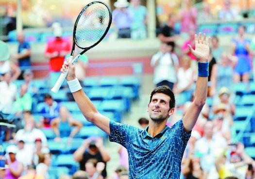 Djokovic survives heat, Fucsovics to reach 2nd round