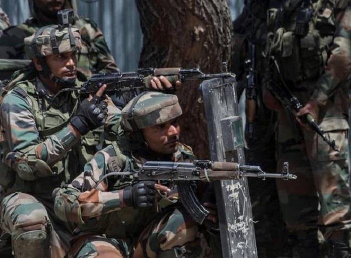 2 Pak terrorists gunned down in J&K