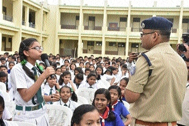 DPS holds event on 'Women Safety & Traffic Programme'