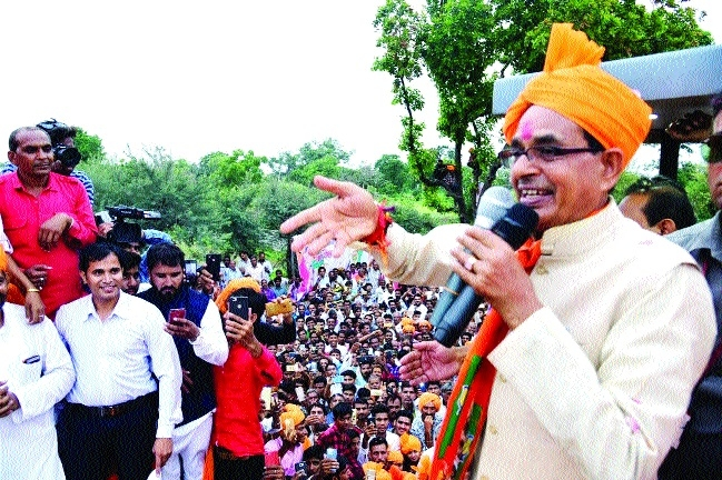BJP always stands by farmers: CM