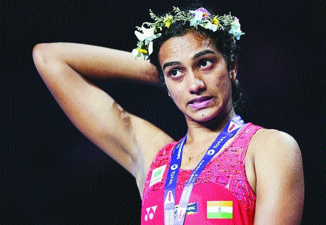 Sindhu settles for silver, again