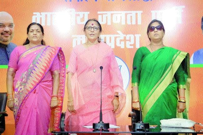 Dwivedi exhorts BJP Mahila Morcha to increase voting percentage