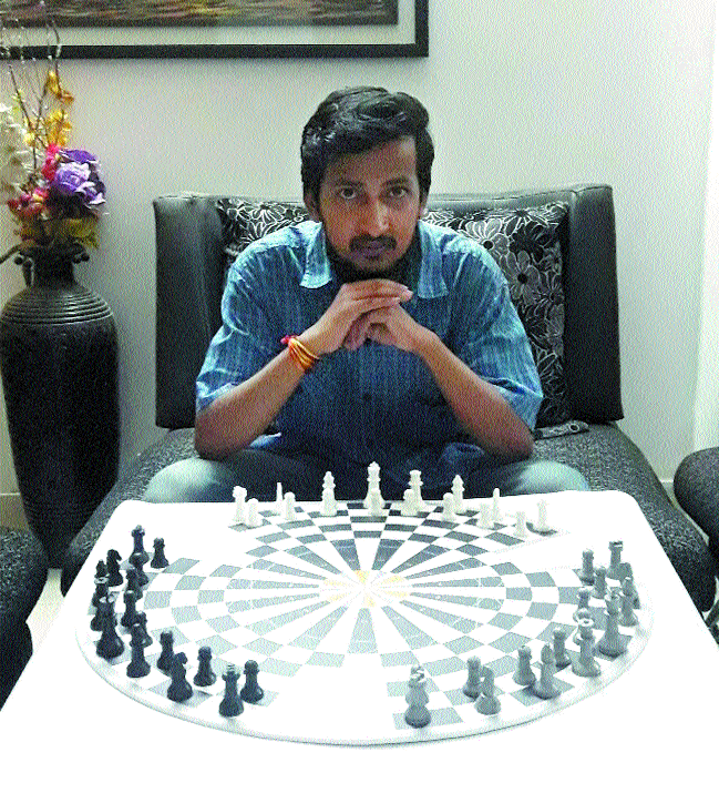 Aditya's 'Triwizard' attracting attention of chess lovers