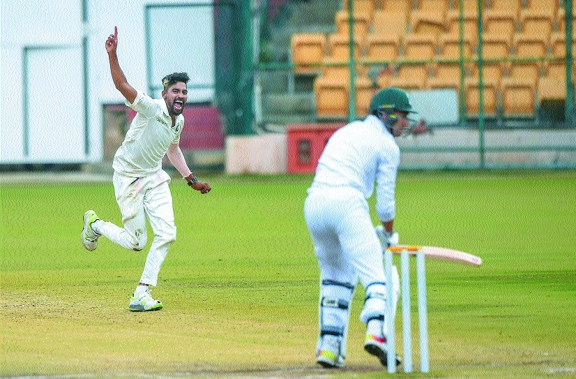 Siraj takes 10-for as India A beat SA A