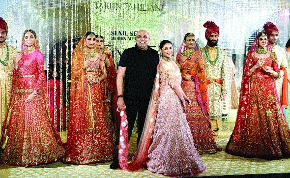 Purchasing couture in India iscentered around wedding: