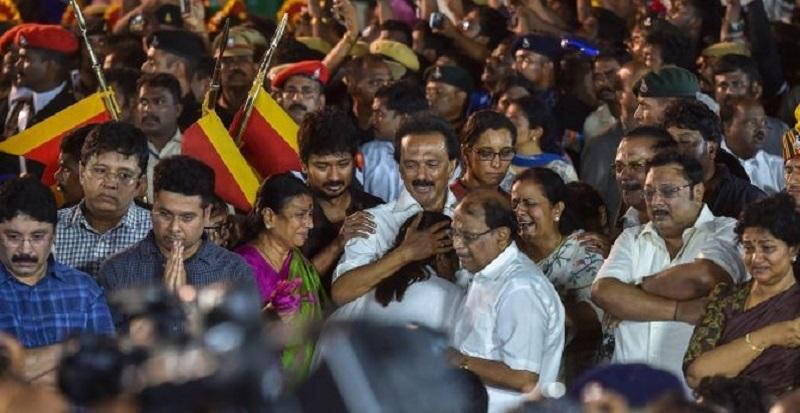 DMK wins Marina battle for their beloved leader