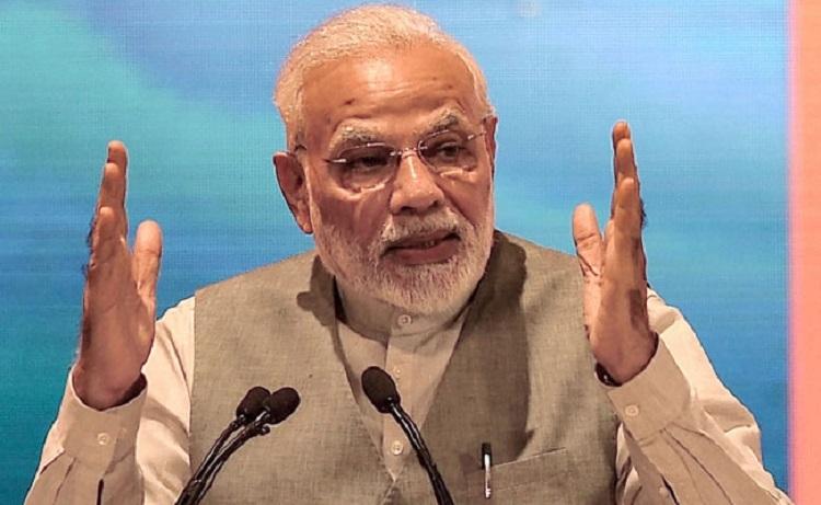 Modi reviews household electrification scheme
