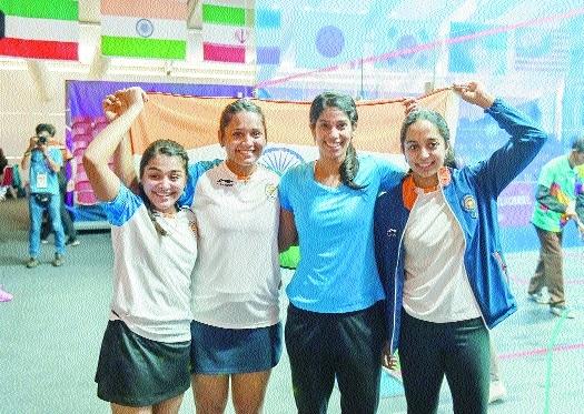 Eves reach squash final