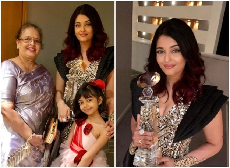 Aishwarya Rai receives Meryl Streep Award