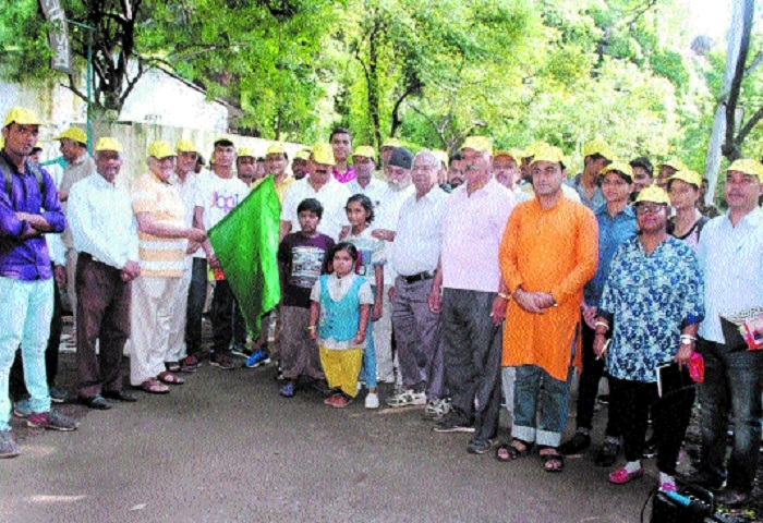 JMC organises Nature Trail to apprise citizens of natural beauty