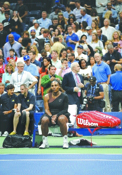 WTA chief Simon backs Serena