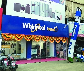 Whirlpool Home exclusive brand store opens at Yashwant Stadium