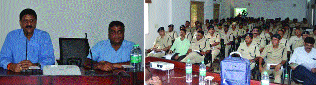 Durg Police Range imparted pre-election training
