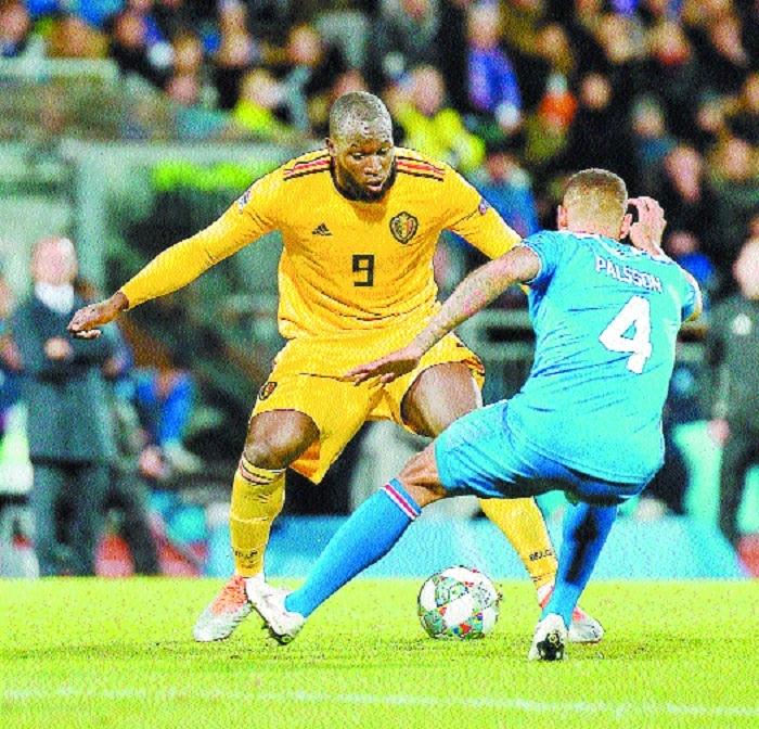 Lukaku double in Belgium win