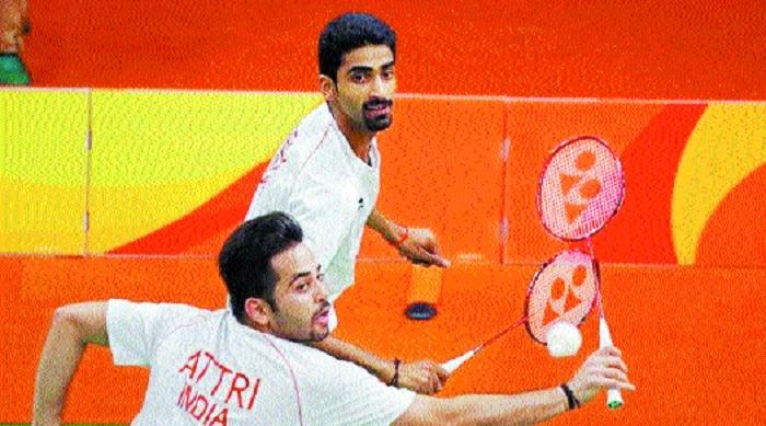Manu-Sumeeth shock Olympic silver winners