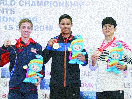 Two more junior golds for India at shooting worlds