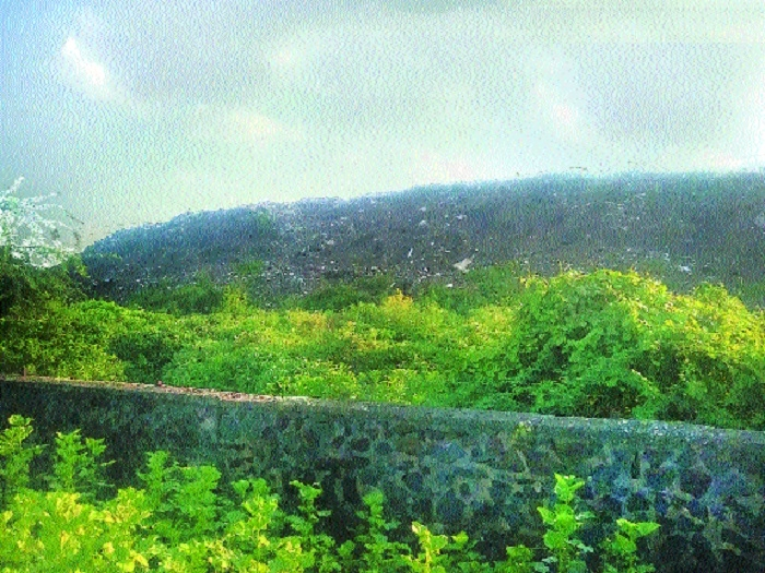 For citizens, open land here is a dumping ground