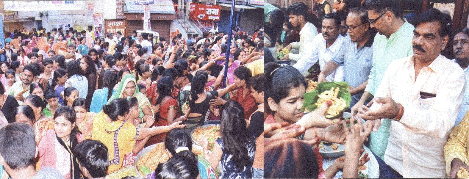 Women end Hartalika fast with sweets