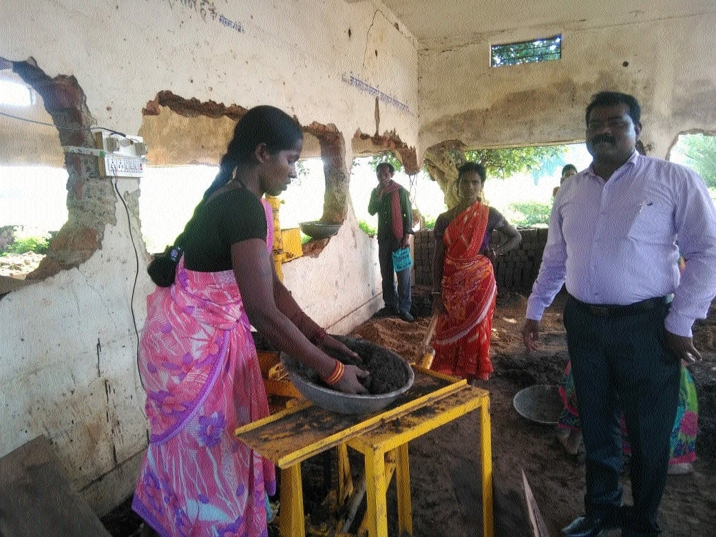 Women scripting story of courage by rebuilding school ruined by Naxals
