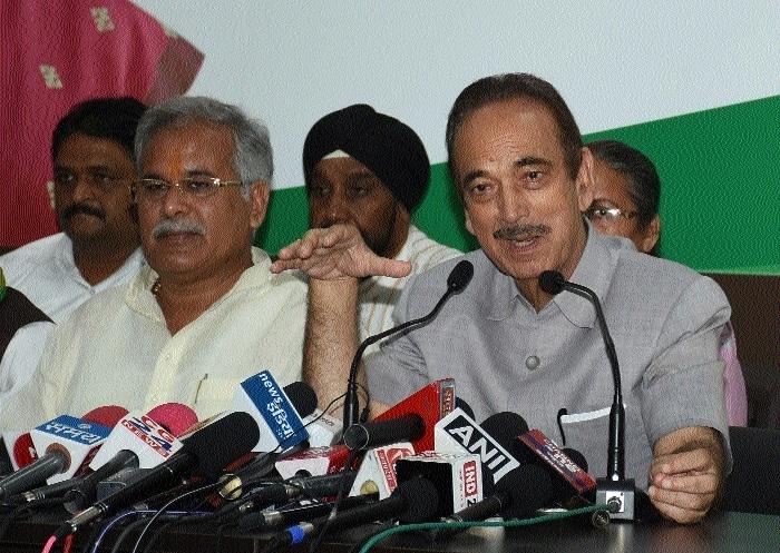 Ghulam Nabi Azad corners Central Govt on Rafale deal, media freedom