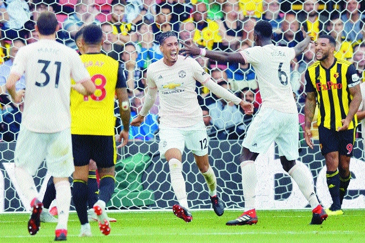Man United cool off Watford with 2-1 away win