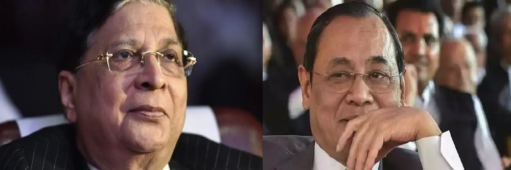 CJI recommends Justice Gogoi as his successor