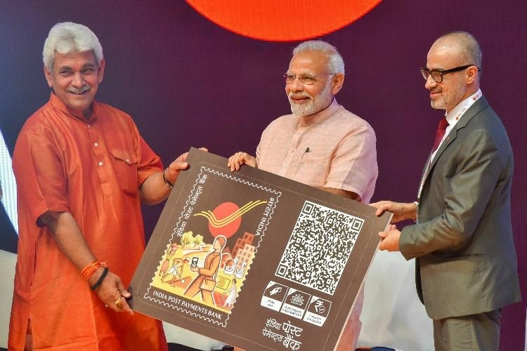 PM launches India Post Payments Bank