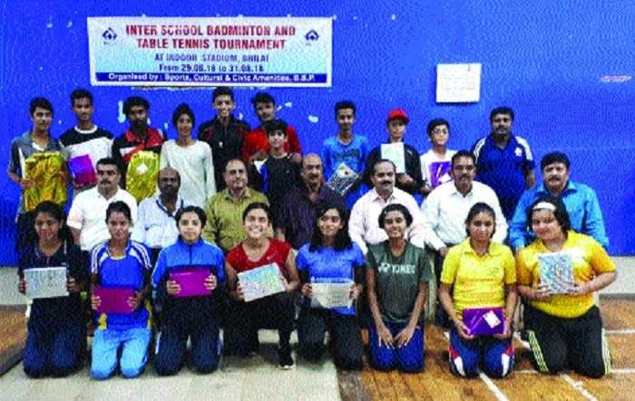 BSP Inter-school Badminton, TT C'ship concludes