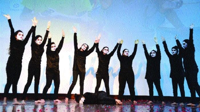 BSSS students' dazzling performances mark International Humanitarian Day