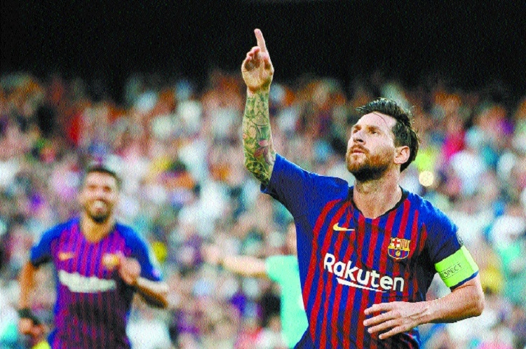Messi's brilliance marks perfect start