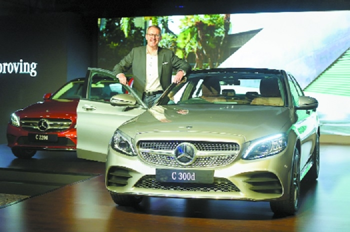 Merc launches new C-Class