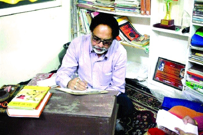 I could not recite my poetry to my father: Sajid Premi